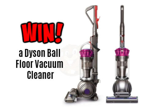 Dyson Vacuum Cleaner Giveaway
