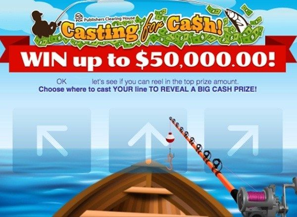 PCH Casting For Cash Giveaway