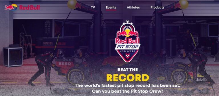 Red Bull Racing Activation Contest