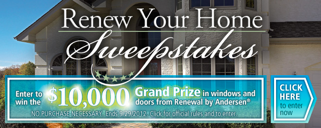 Andersen Renew Your Home Sweepstakes