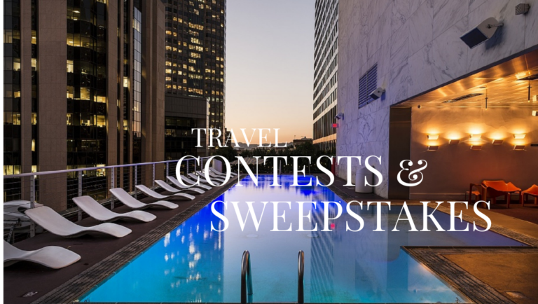 Luxury Wellness Retreat Sweepstakes