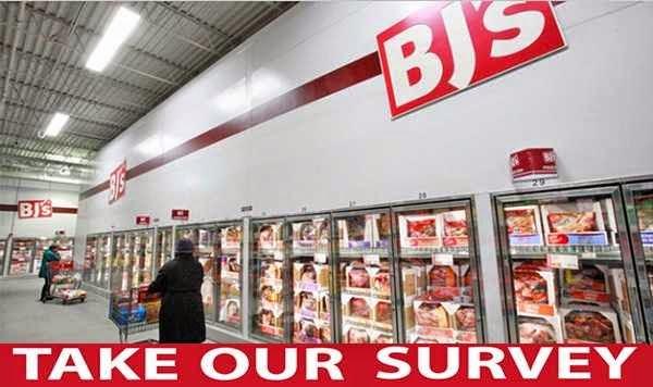 BJ's Gift Card in BJ's Feedback Survey