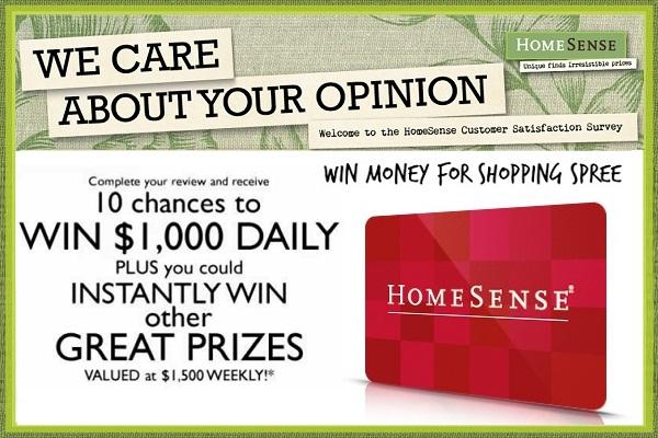 Homesensecares Customer Survey