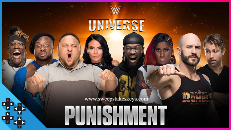 WWE Universe Superstar Showdown Sweepstakes
