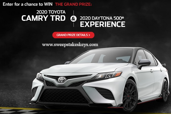 Toyota Monster Energy Nascar Cup Series Sweepstakes
