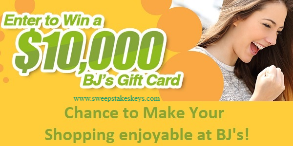 BJ's Digital Sweepstakes