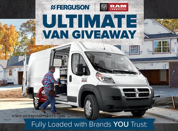 Ferguson Ram Van Sweepstakes