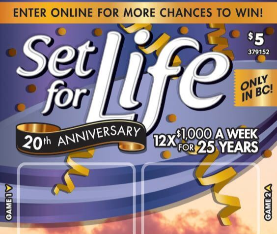 Set for Life 20th Anniversary Contest