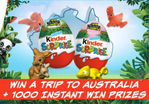 Kinder Surprise Animal Adventure Sweepstakes
