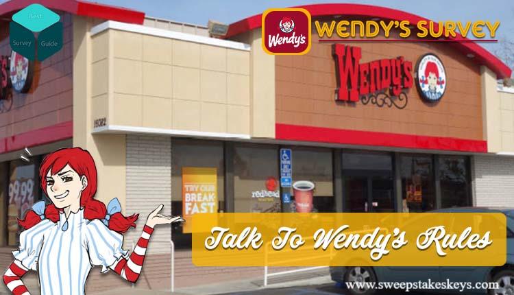 Talk to Wendys Customer Satisfaction Survey