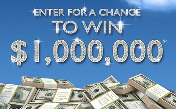 PCH.com $1 Million Dollars Sweepstakes