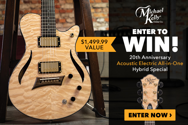 Premier Guitar Michael Kelly Hybrid Special Sweepstakes