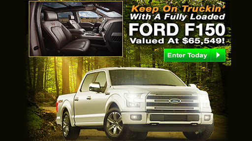 PCH Ford Truck F-150 Explorer Giveaway