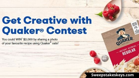 Get Creative with Quaker Contest