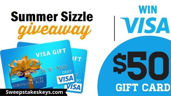 Sizzle Your Summer Sweepstakes