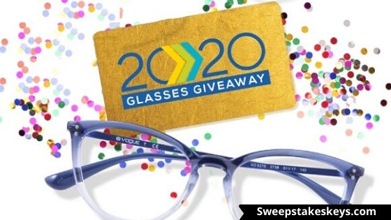 The 2020 Glasses Giveaway