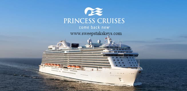 Princess Cruises Set Sail Together Sweepstakes