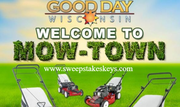 Fox 11 Good Day Wisconsin Welcome to Mow-Town Contest