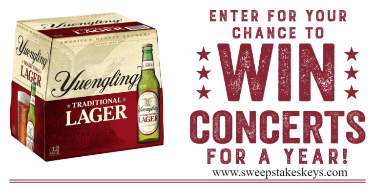 Yuengling Spread Your Wings Tour Sweepstakes