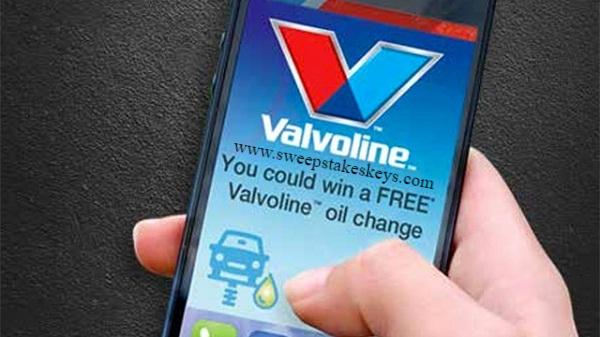 Valvoline Drives Reward Game Sweepstakes