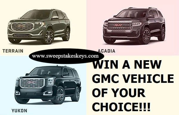 Experience GMC Today Win A GMC Sweepstakes