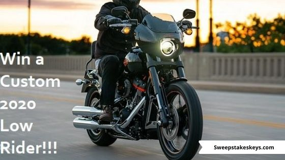Harley-Davidson Motorcycle Sweepstakes 2020