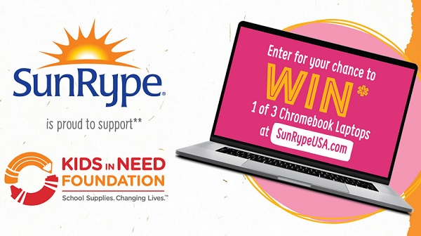 SunRype Back to School Sweepstakes