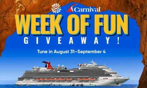 Wheel of Fortune Carnival Week of Fun Giveaway