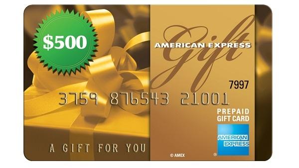Hallmark American Express Sweepstakes