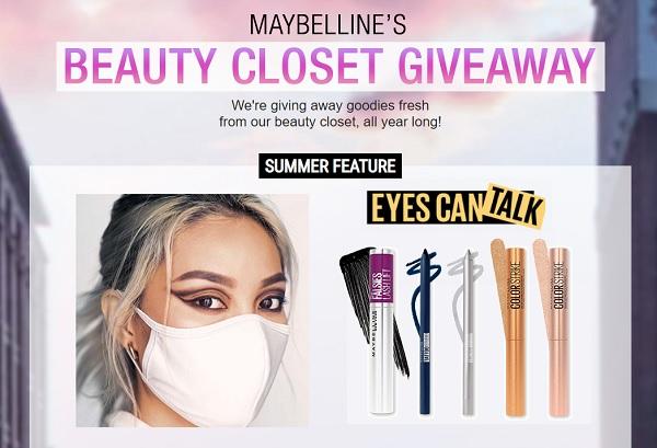 Maybelline Beauty Closet Sweepstakes