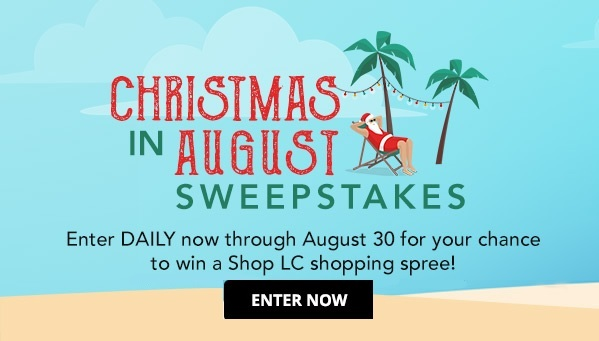 ShopLC Shopping Spree Sweepstakes