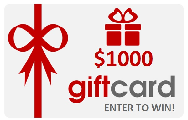 YEL Network $1000 Gift Card Giveaway