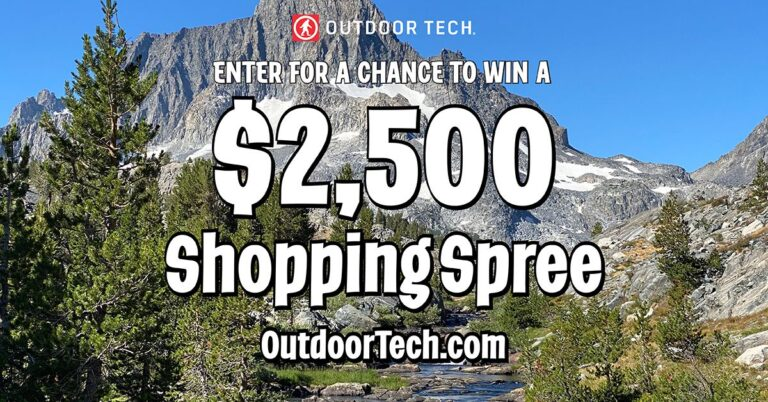 OutdoorTech Shopping Spree Giveaway