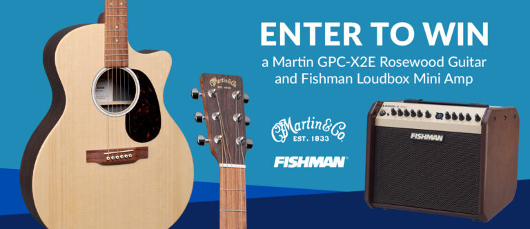 Martin Acoustic and Fishman Loudbox Mini Giveaway