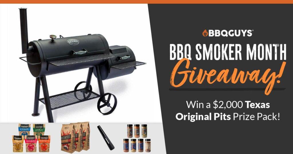BBQGuys BBQ Smoker Month Giveaway