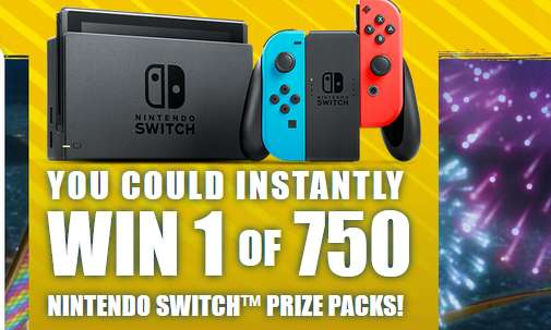 Lunchables nintendo switch giveaway