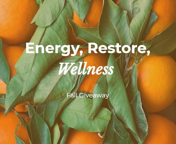 Max Bone Energy Restore Wellness Fall Giveaway