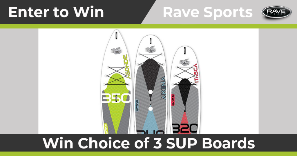 Paddling RAVE Sports Sweepstakes