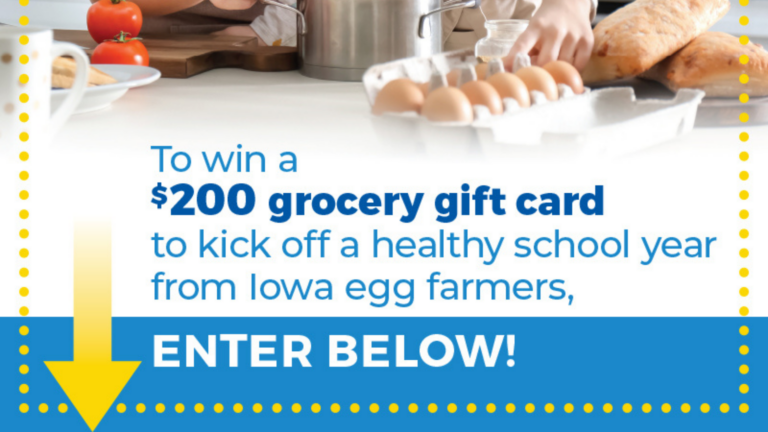 Iowa Egg Council Gift Card Giveaway
