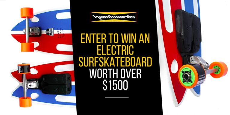 Hamboards Electric Surfskateboard Giveaway