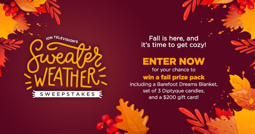 ION Television Sweater Weather Sweepstakes