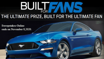 Ford Built for Fans Sweepstakes