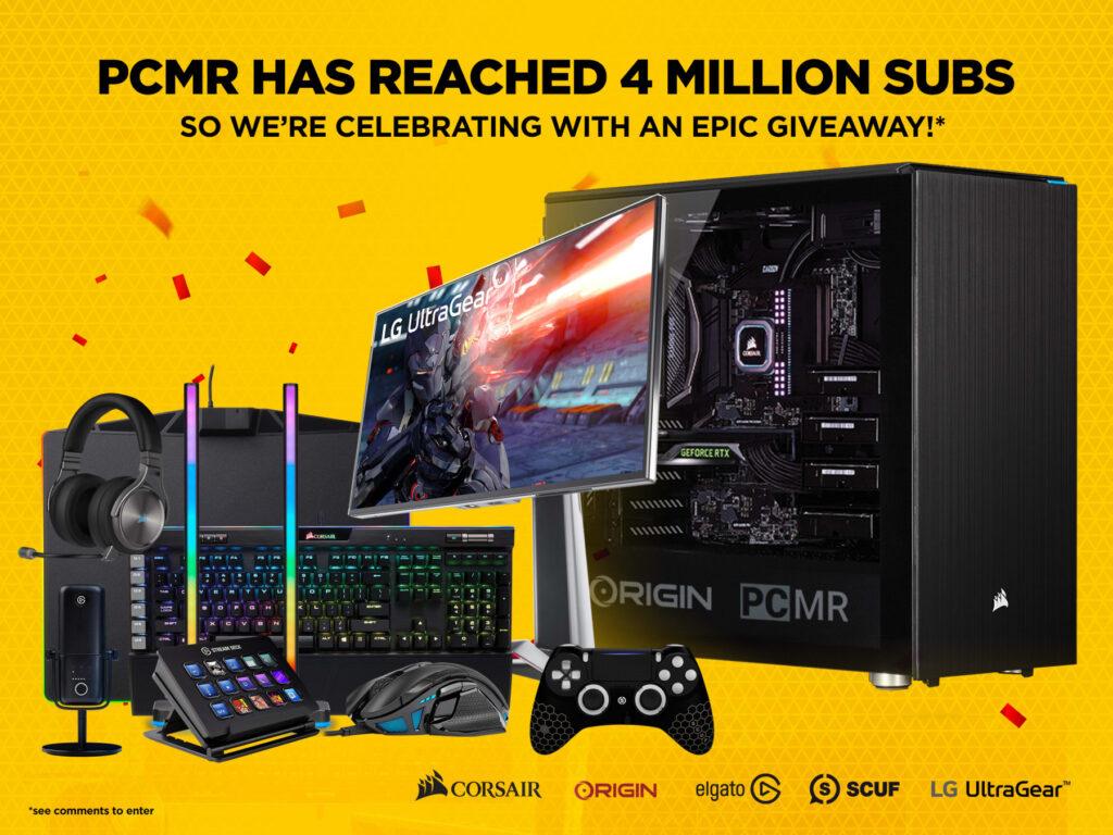 Corsair PCMR Epic Gaming PC Giveaway