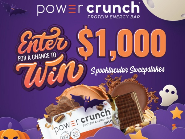 iHeartRadio Power Crunch Spooktacular Sweepstakes
