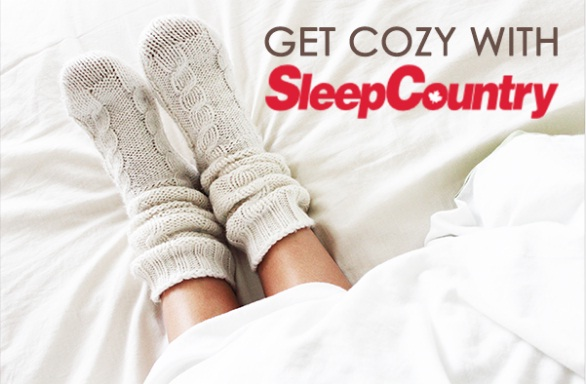 Cozy Up With Sleep Country Contest