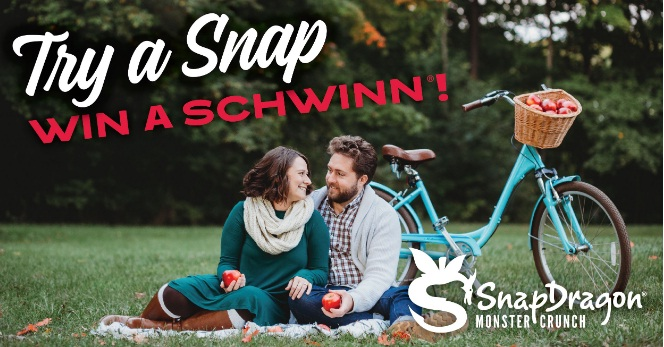 SnapDragon Apples Try A Snap Win A Schwinn Giveaway
