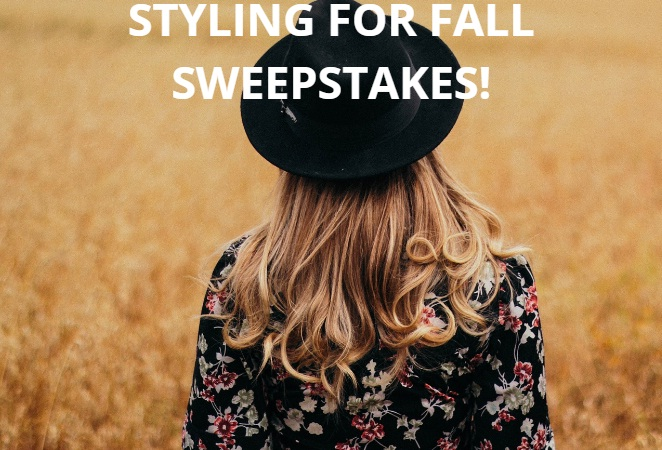 Styling For Fall Sweepstakes