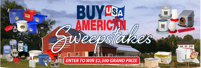 Miller Manufacturing Buy American Sweepstakes