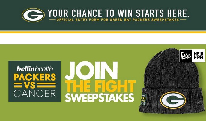 Packers Vs Cancer Knit Hat Sweepstakes