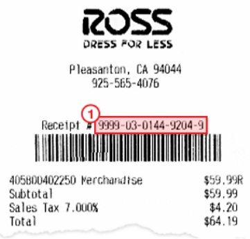 Ross Customer Satisfaction Survey Sweepstakes